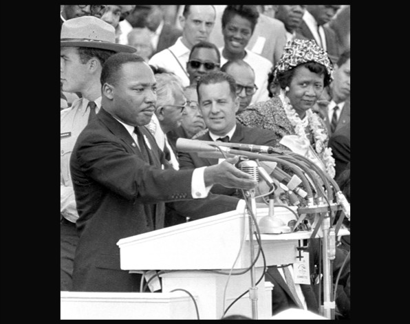 Martin Luther King, contra el apartheid de Estados Unidos
